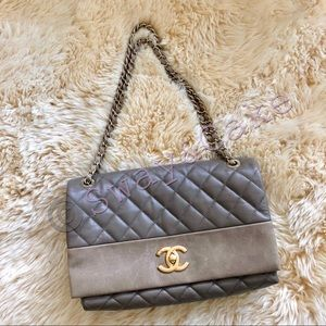 6da5ca102e4c CHANEL Bags - CHANEL Quilted Leather Soft Elegance Flap Bag